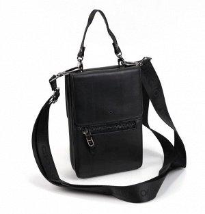 Мужская кожаная сумка-портмоне