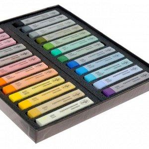Пастель сухая, набор 24 цвета, «Гамма» «Старый мастер», базовые цвета /Корея/