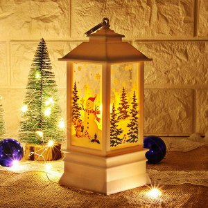 Рождественский Фонарик LED-подсветка в Подарочной Коробке
