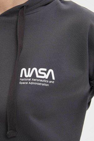 Свитшот NASA с принтом на спине