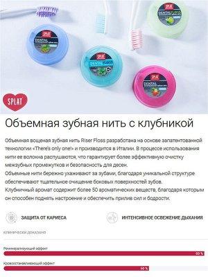 Splat СПЛАТ Зубная нить Клубника (cп.6)