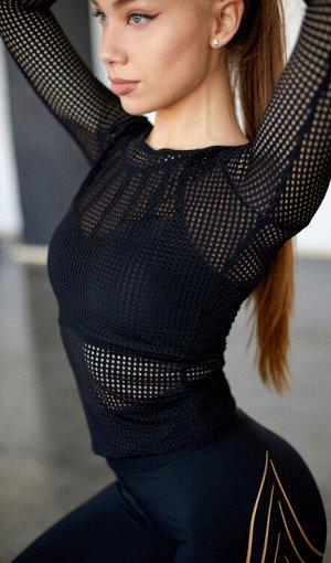 Рашгард black mesh