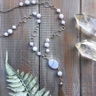 Самоцветы-кулоны из натурального камня — АВТОРСКИЕ — Колье и бусы