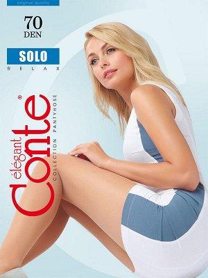 Колготки Conte Solo Nero (черные) 70 den