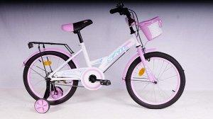 Велосипед детский 2-х колесный SAIL 18 д. ZZ-009 (1/1) розовый
