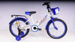 Велосипед детский 2-х колесный SAIL 18 д. ZZ-009 (1/1) синий