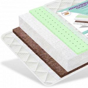 """Матрас в кроватку """"CocoLat BIO  Aerato Premium"""" с сеткой, трикотаж (толстая стежка)119*59 AP-CLB"""