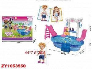 Кукла в наборе ZY1053550 BLD243 (1/24)