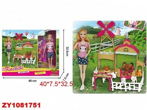 Кукла в наборе ZY1081751 BLD283 (1/24)