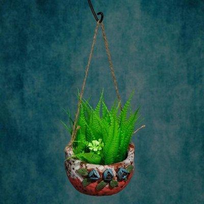 🌷 Кашпо, горшки, грунт - всё для домашних цветов и сада 🌷  — Настенные и подвесные кашпо — Кашпо и горшки