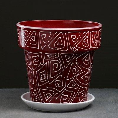 🌷 Кашпо, горшки, грунт - всё для домашних цветов и сада 🌷  — Кашпо из керамики от 5 до 7 л — Кашпо и горшки