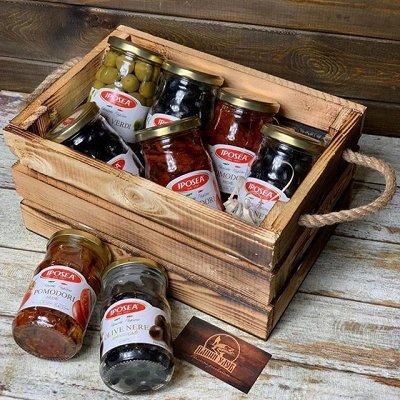 Оливковое масло Urzante, Vilato, La Espanola, Antico! — Артишоки, Каперсы, Оливки, вяленые томаты Iposea 5 — Овощные и грибные