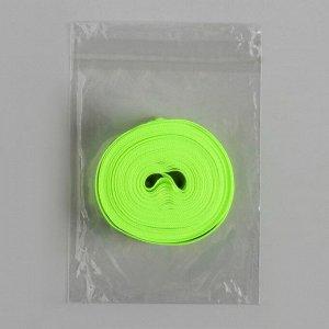 Светоотражающая лента стропа, 40 мм, 5 ± 1 м, цвет салатовый