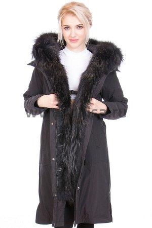 Пальто Symonder 20242-А_Р (Черный D18)