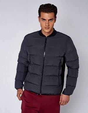 Куртка утепленная мужская (серый)