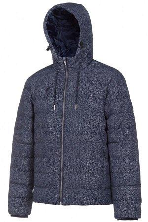 Куртка с эко пухом мужская (синий)