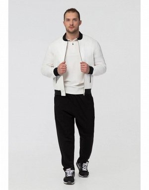 Куртка ветрозащитная мужская (белый/черный)