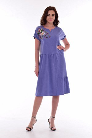 *Платье женское Ф-1-29п (светлый индиго)