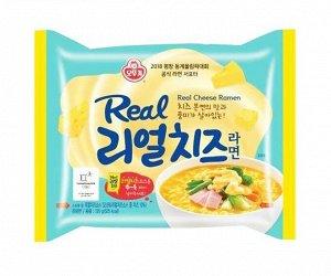"""Лапша б/п """"Real Cheese Ramen"""" со вкусом сыра 135 г"""