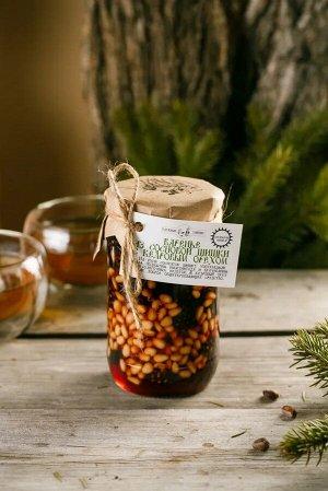 Варенье из сосновой шишки с кедровым орехом