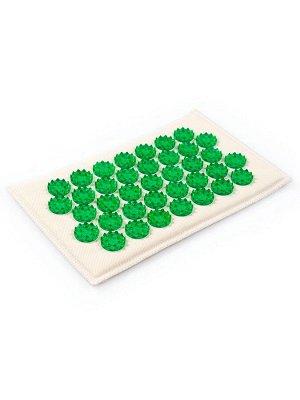 Массажер на мягкой подложке, зеленый