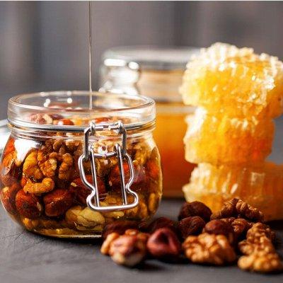 Джемы и варенье к чаю.. — Орехи в меду. — Орехи