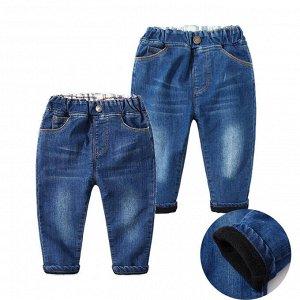 Джинсы утепленные -Яркая одежда