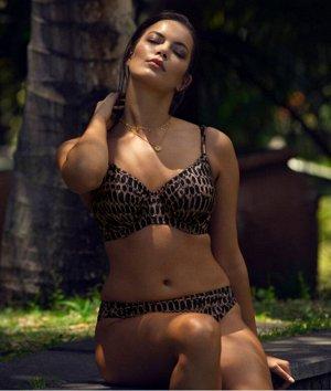 Лиф UW Gathered Full Cup Bikini Fold Bikini Brief Top