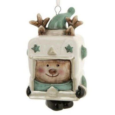 Новогодний F-present  - сувениры, презенты, предзаказания — Ёлочные игрушки-игрушки из керамики — Сувениры