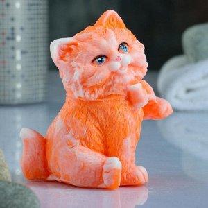 """Фигурное мыло """"Котик с бантиком"""" 95гр"""