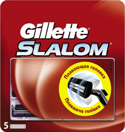 P& G -любимая бытовая химия  — SLALOM - КАССЕТЫ GILLETTE — Бритье и эпиляция