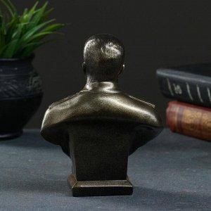 Бюст Сталина, бронза 16см
