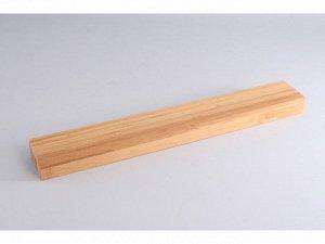 5652 GIPFEL Настенная магнитная планка для хранения ножей 42x6x3 см (бамбук)