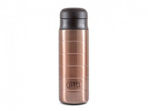 8213 GIPFEL Термос вакуумный KLOSS 420мл.  Материал: нерж. сталь 18/10, пластик. Цвет: темно-зеленый