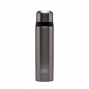 8197 GIPFEL Термос вакуумный SANTOS 1000мл. Материал: нерж. сталь 18/10, пластик. Цвет: серый