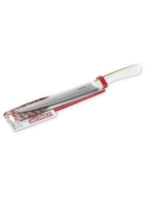 50051 WERNER Нож разделочный RIFREDO 20см. Материал лезвия: нерж.сталь. Материал ручки: TPR пластик с покрытием Soft Touch