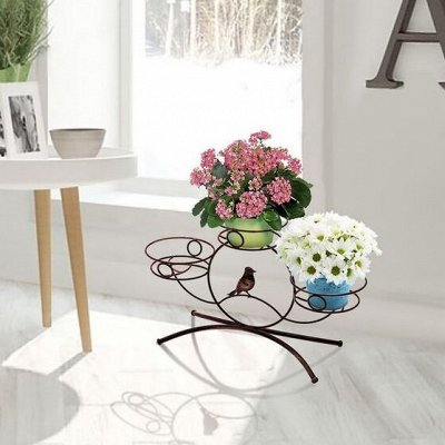 🌷 Кашпо, горшки, грунт - всё для домашних цветов и сада 🌷 — Напольные подставки — Кашпо и горшки