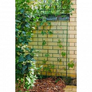 Сетка садовая, 0.5 ? 10 м, ячейка 1.5 ? 1.5 см, зелёная, Greengo