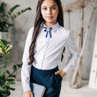 Детская одежда, обувь, аксессуары! Шапки на любую погоду — Шикарные белые блузки — Блузки, туники