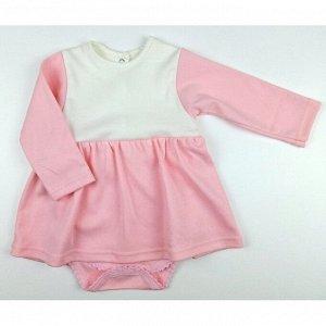Боди-платье 5139/11 (молочно-розовый)