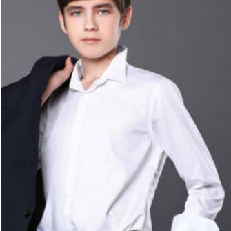 Детская одежда, обувь, аксессуары! Шапки на любую погоду — Белые рубашки. Супер цена! — Рубашки