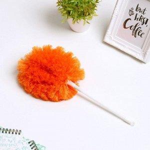 Щётка для удаления пыли Доляна, ручка 22,5 см, цвет МИКС