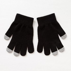 Перчатки женские арт 220 цвет черный , р-р 18