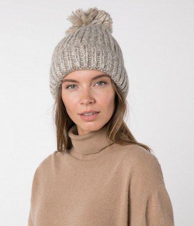 Шапки, снуды, перчатки для женщин — Женские шапки — Вязаные шапки