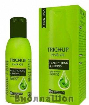 Масло для волос Тричуп Здоровые, Длинные, Сильные, Hair oil TRICHUP Heathy, Long & Strong VASU 100 мл