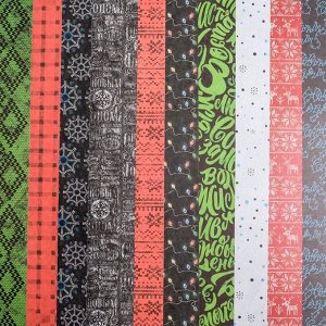 Набор бумаги для скрапбукинга «Сильный Новый год», 18 листов, 30,5 х 30,5 см, 180 г/м