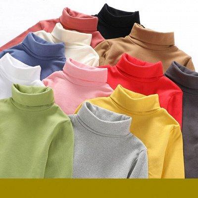 💥Обувь! Супер цены!🍁Одевайся вся семья!🍂Осень-Зима🔥😍   — Водолазки Детям - Удобно и модно! — Пуловеры и джемперы