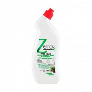 Эко-гель для мытья туалета на натуральной лимонной кислоте + хвойный экстаркт, Zero, 750мл