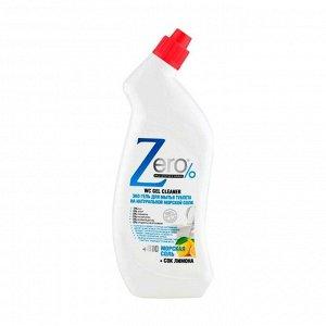 Эко-гель для мытья туалета на натуральной морской соли, Zero, 750мл
