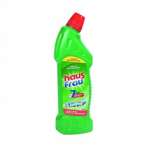 Гель для чистки сантехники Хвойная свежесть, Haus Frau, 750мл